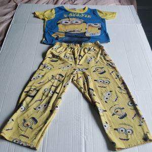 Despicable Me Minions #Selfie Matching Pajamas Set